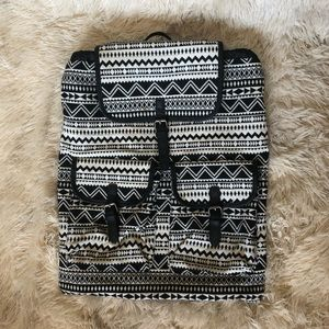 Mossimo supply company Aztec pattern backpack